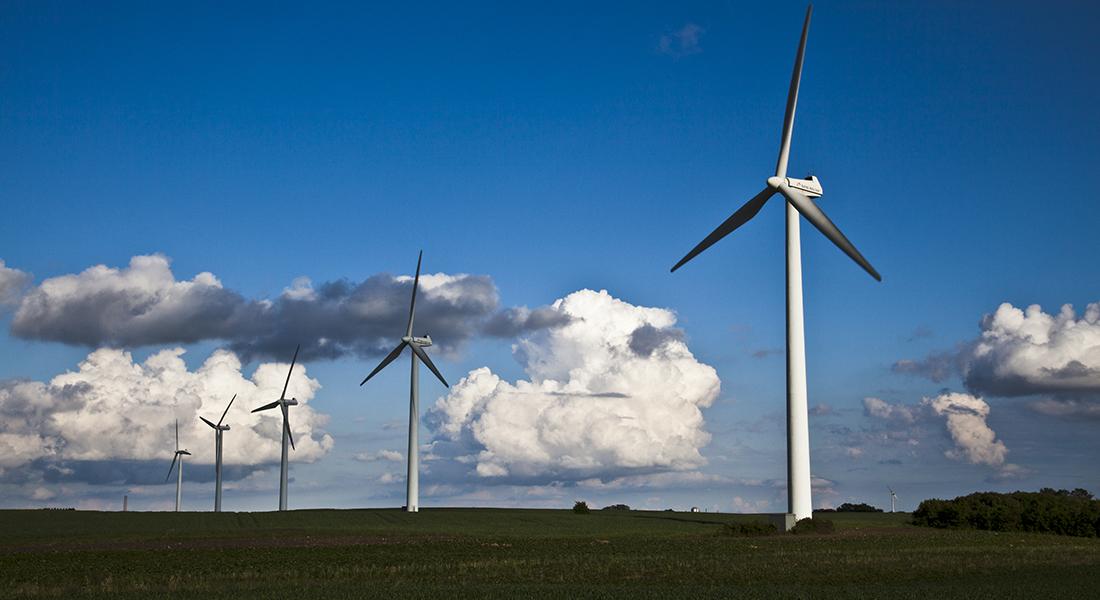 Wind mills. Photo: Colourbox